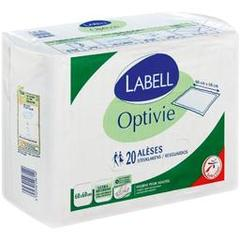 Optivie Aleses 60 x 60cm, hygiene pour adultes, ultra absorbant, Le paquet de 20