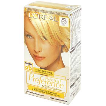 coloration blond tres tres clair dore recital preference - Coloration Blond Clair