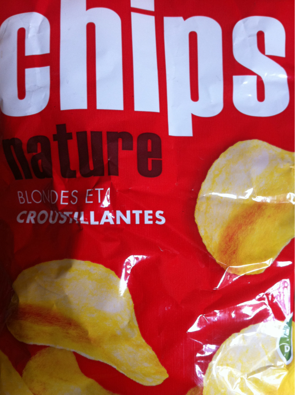 Chips blondes et croustillantes 350g