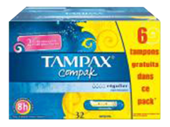 Tampons Compak Regulier