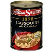 William Saurin cassoulet languedoc canard 420g