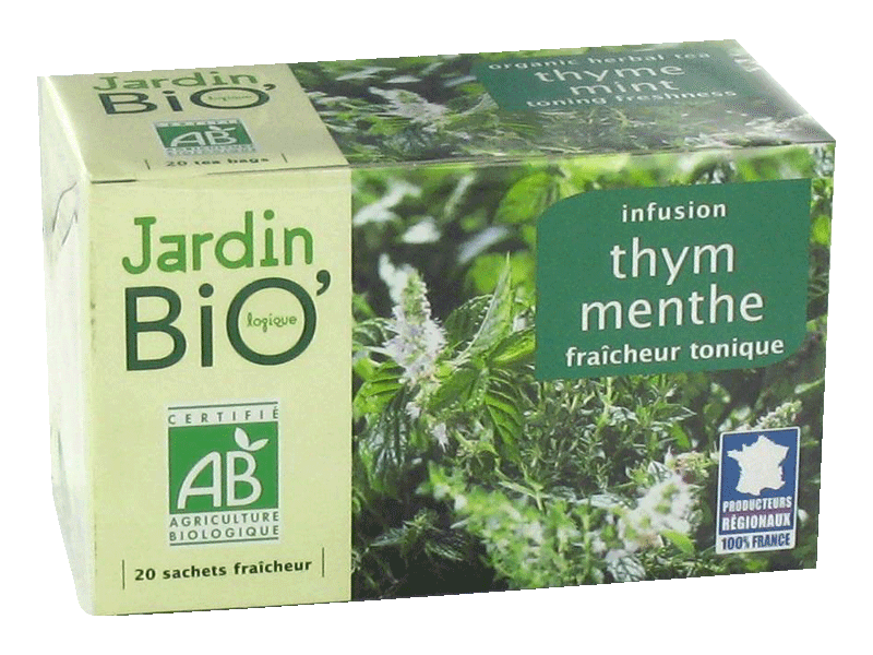 Le Jardin Bio infusion thym menthe 30g