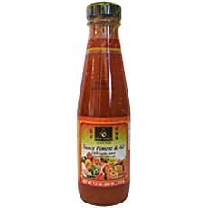 Sauce au piment et a l'ail DEE THAI, 200ml