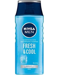 Nivea Hair care Shampooing Soin Fresh/Cool 250 ml - Lot de 3
