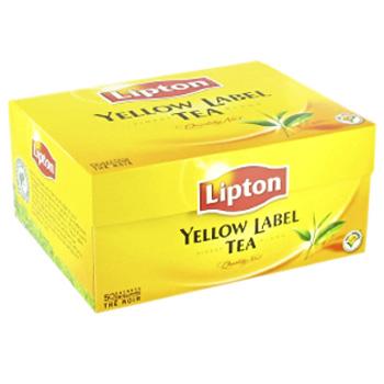 lipton lipton yellow label la boite de 50 sachets 100 gr tous les produits th s prixing. Black Bedroom Furniture Sets. Home Design Ideas