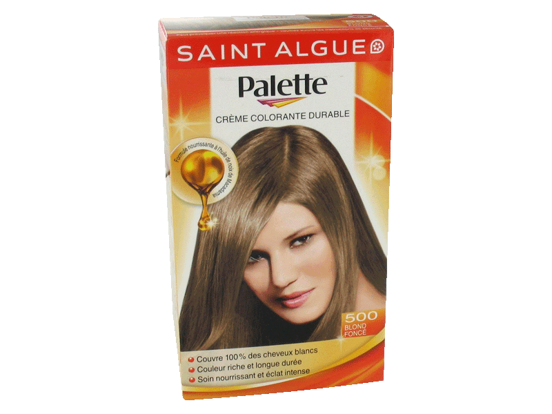 Coloration permanente - blond fonce n°500