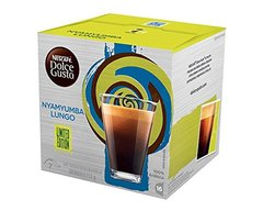 Lungo nescafé en capsules DOLCE GUSTO N'YUMBA, 16 capsules 112g