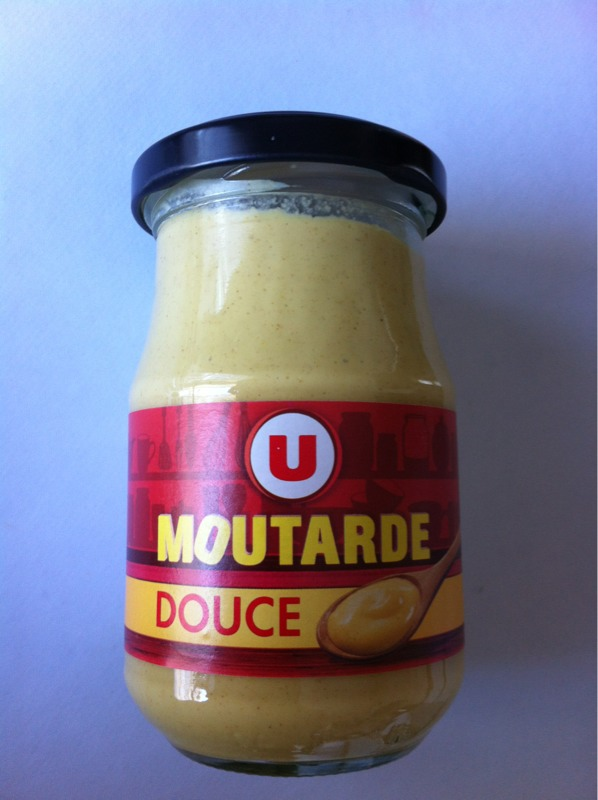 Moutarde douce U, 190g