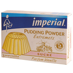 Pudding suc/vanille imperial 3 doses de 60gr