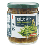 AUCHAN : Haricots verts extra fins