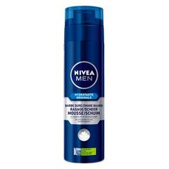 Mousse a raser pour barbe dure NIVEA FOR MEN, bombe de 200ml