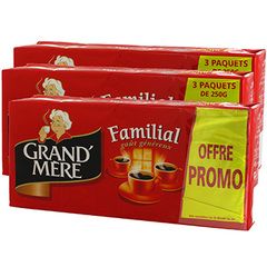 Cafe Grand Mere Familial 12x250g