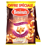 Benenuts apero cracks maxi craquants nature 90g