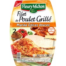 Filet de poulet grillé/épices douces Fleury Michon