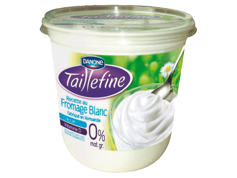Fromage blanc nature Taillefine, pot de 850g