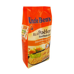 Riz a poeler delicatement dore UNCLE BEN'S, pochon 350g