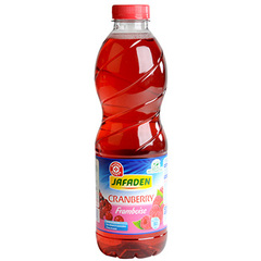 Leclerc aux jus Jafaden Cramberry Framboise 1l