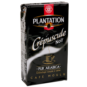 Cafe Plantation crepuscule Moulu arabica 250g