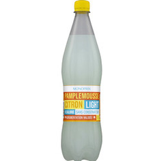 Boisson gazeuse light pamplemousse citron