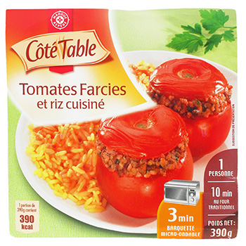 Tomates farcies Cote Table 390g