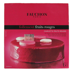 Charlotte follement fruits rouges FAUCHON 550G