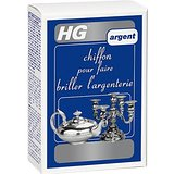 HG Chiffon pour Faire Briller l'Argenterie 1000 ml - Lot de 3