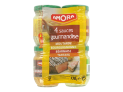 Amora kit tradition gourmande sauce x4 -338g