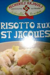 risotto aux Saint-Jacques -700g
