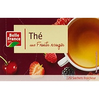 Belle France Thé aux Fruits Rouge 20 Sachets 34 g - Lot de 5