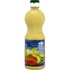Vinaigrette nature, allegee en matieres grasses