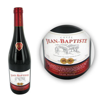 VIN DE TABLE CUVEE J.BAPTISTE 75CL
