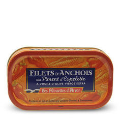 Filets d'Anchois au piment d'Espelette