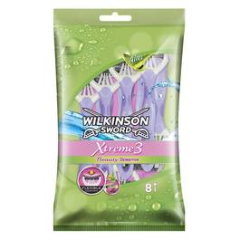 Wilkinson Sword Xtreme 3 - Rasoirs Beauty Sensitive jojoba et aloé le sachet de 8