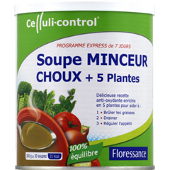 Soupe minceur aux choux + plantes karelea, 300g - Tous les ...