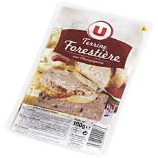Terrine forestiere superieure U, 180g