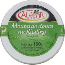 Moutarde douce au riesling ALELOR,130g