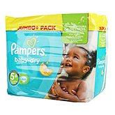 Couches Pampers Baby Dry T5 + Jumbo + x68