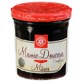 Confiture Mamie Douceur Mures 370g