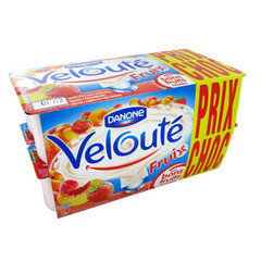 Veloute fruix aux fruits mixes panache 16 x 125 g