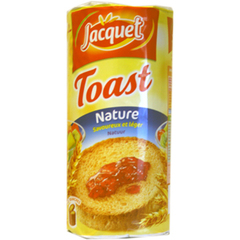 Jacquet Le Toast nature le paquet de 13 toasts - 125 g