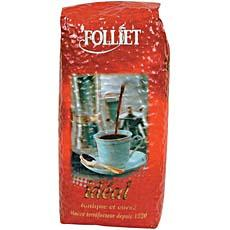 Cafe en grains Ideal FOLLIET, 1kg