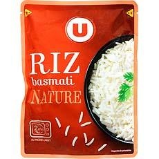 Riz Basmati nature micro-ondable 2' U 250g