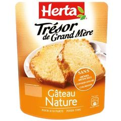 Tresor de Grand-mere - Gateau nature, pate a gateau, 8/10 parts, le sachet de 550g