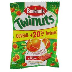 Twinuts Goût Bacon