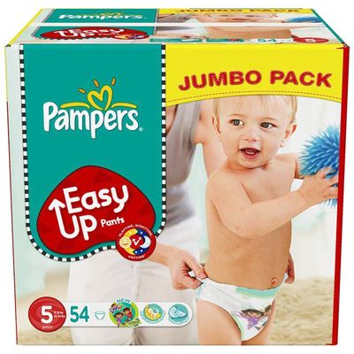 Pampers easy up jumbo junior x54