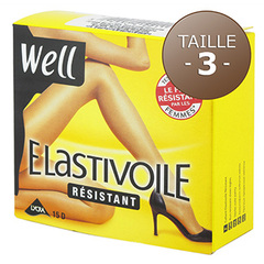 Collant resistant Elastivoile WELL, taille 3, gazelle