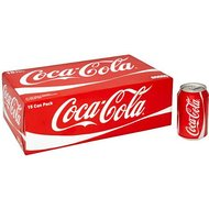 Coca-Cola Fizzy Drinks 15 x 330ml Cans Case of 2