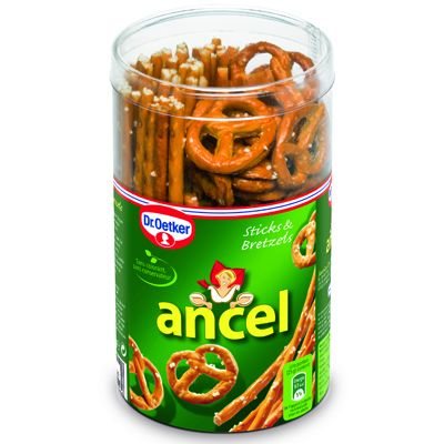 Ancel mini assortiment sticks et bretzels 130g