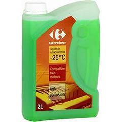 liquide de refroidissement 25 c anti corrosion tous les produits huiles additifs prixing. Black Bedroom Furniture Sets. Home Design Ideas