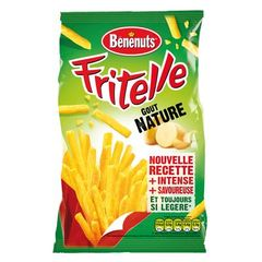 Fritelles gout nature - frites legeres finement salees